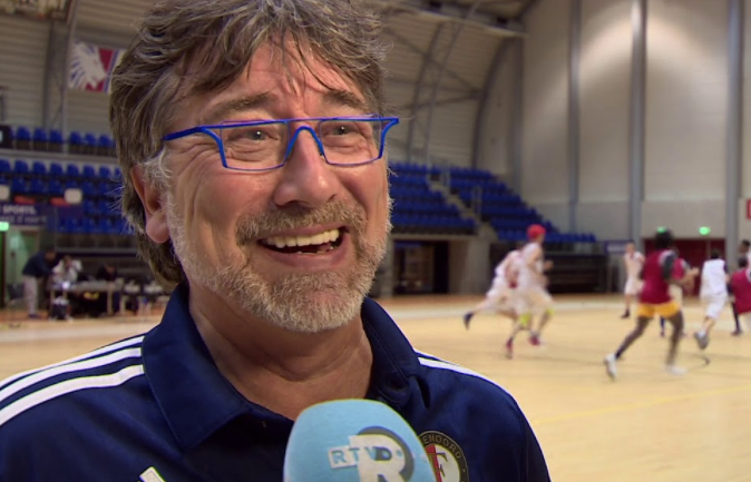 Interview met Armand Salomon (Feyenoord Basketbal)