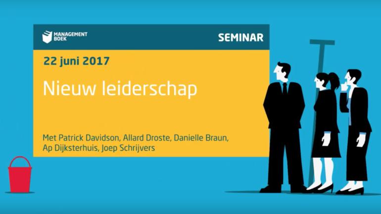 Video: Nieuw Leiderschap, seminar met dagvoorzitter Patrick Davidson