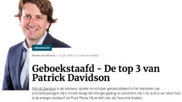 De drie favoriete boeken van… Patrick Davidson