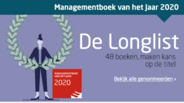 Management Boek van het Jaar 2020, Werkvuur genomineerd!