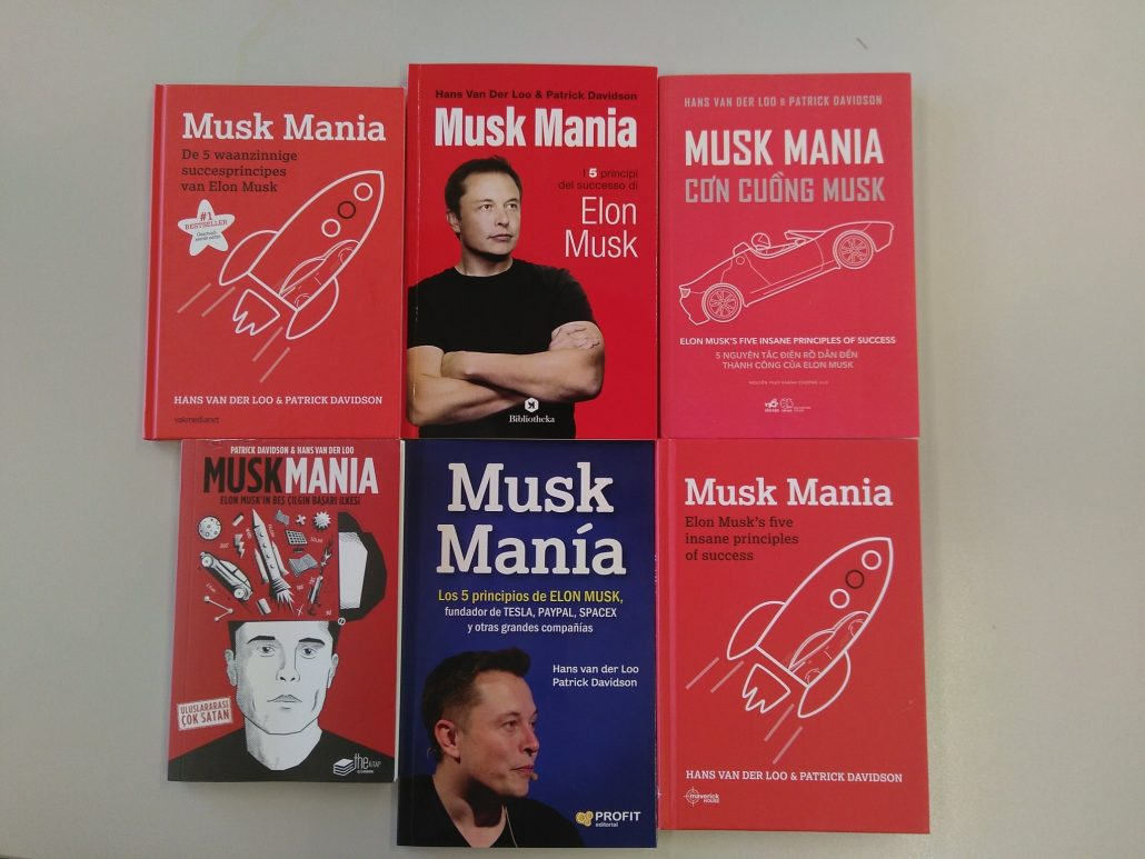 Musk Mania internationale edities