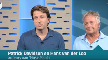 Video: Patrick Davidson en Hans van der Loo over hun bestseller Musk Mania