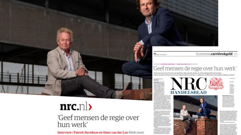 Interview met Patrick Davidson in NRC Handelsblad