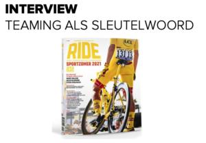 RIDE Magazine - Teaming als sleutelwoord - Iwan Spekenbrink - Addy Engels - Patrick Davidson - Martijn Veltkamp