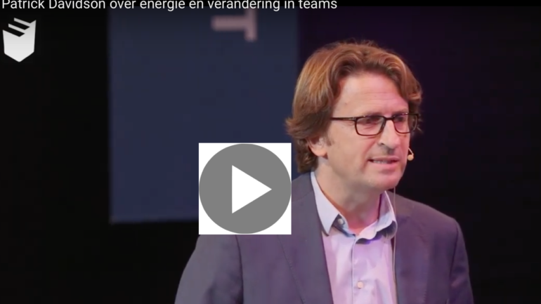 Video: Patrick Davidson over energie en verandering in teams
