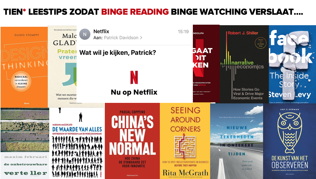 Tien leestips - binge reading - #stayathome