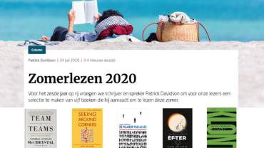 Zomerlezen 2020: Welk boek ga je lezen op vakantie?